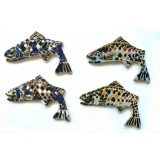 Hand Made Fish Magnets