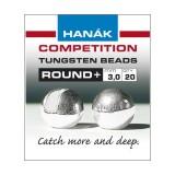 Hanak Tungsten Beads Round