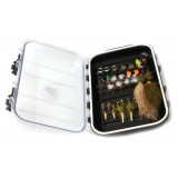 MFF Fly box + 41 flies
