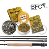 BFC Discovery HPS Fly Set 8.6ft 4wt